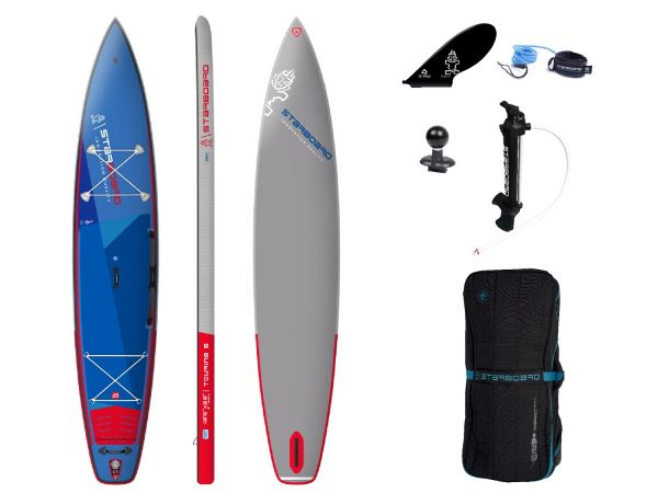 """Starboard 2021 TOURING INFLATABLE SUP 12'6"""" X 28"""" X 6"""" DELUXE SC"""