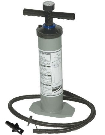 Grabner Luftpumpe mit Manometer